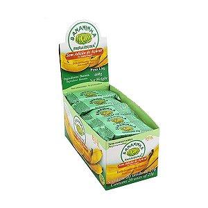 Bananinha Sem Adição De Açúcar Paraibuna Contendo 20 Unidades De 23g Cada