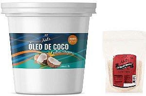 ÓLEO DE COCO EXTRAVIRGEM EMPÓRIO NUTS 3lt - GANHE 1pct SAL ROSA HIMALAIA 400g!!!