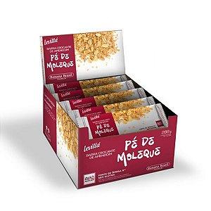 Levittá Barra Crocante De Amendoim Pé De Moleque Contendo 24 Barras De 12g Cada