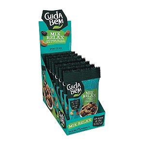 Snack Mix Relax - Castanha-de-caju, Coco E Uvas Passas Cuida Bem Contendo 7 Pacotes De 25g