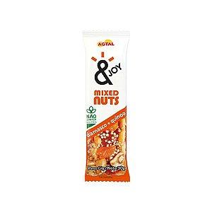 Barra Mixed Nuts Damasco + Quinoa &joy 30g