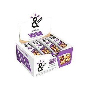 Barra Mixed Nuts Cranberry &joy Contendo 12 Unidades De 30g Cada
