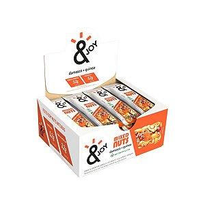 Barra Mixed Nuts Damasco + Quinoa &joy Contendo 12 Unidades De 30g Cada