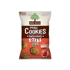 Mini Cookies Integrais E Orgânicos Diet Maçã E Canela Mãe Terra 25g
