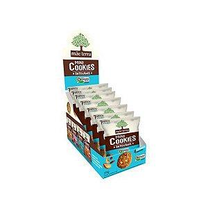 Mini Cookies Integrais E Orgânicos 4 Castanhas Mãe Terra Contendo 7 Pacotes De 25g Cada