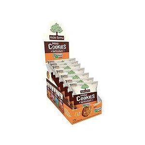 Mini Cookies Integrais E Orgânicos Granola E Mel Mãe Terra Contendo 7 Pacotes De 25g Cada