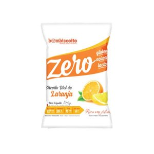 Biscoito Diet Sabor Laranja Bombiscoito Zero Glúten E Zero Lactose 100g