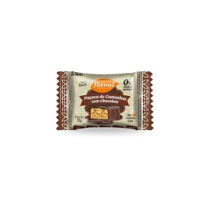 Paçoca De Castanha Com Chocolate 0% Açúcar Flormel Unidade