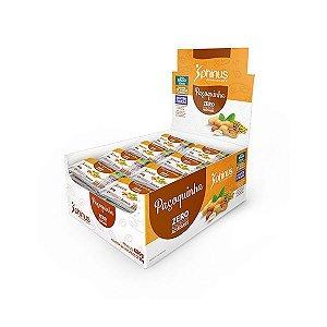 Paçoquinha Zero Açúcar Phinus Contendo 24 Unidades De 25g Cada