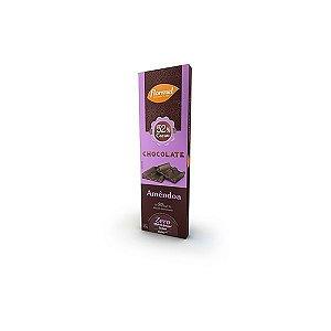 Chocolate Flormel 52% Cacau E Amêndoa 20g