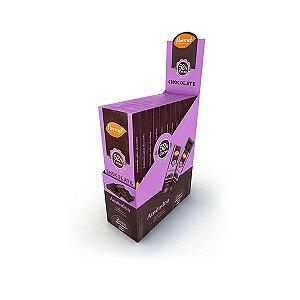 Chocolate Flormel 52% Cacau E Amêndoa Contendo 12 Barras De 20g Cada