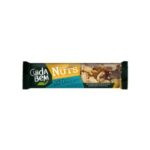 Barra De Nuts Com Banana E Quinoa Zero Açúcar Cuida Bem 25g