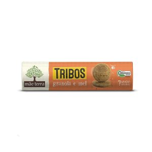 Biscoito Mãe Terra Tribos Granola E Mel 130g