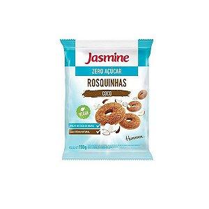 Rosquinhas De Coco Zero Açúcar Vegan Jasmine 150g