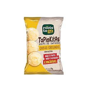 Tapiokitas Chips De Tapioca Queijo Grelhado Sem Glúten Roots To Go 35g