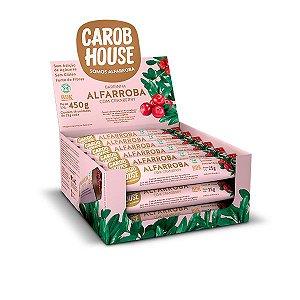Alfarroba Com Cranberry Carob House Contendo 18 Unidades