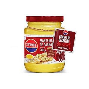Manteiga De Garrafa Sertanorte 200g