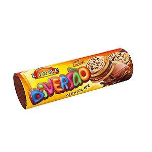Biscoito Recheado Chocolate Sem Lactose Liane 115g