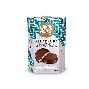 Alfarroba com biscoito integral Carob House 100G