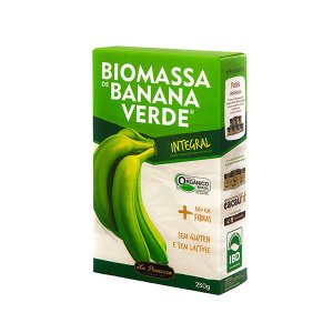 BIOMASSA DE BANANA VERDE INTEGRAL LA PIANEZZA 250g