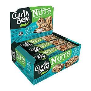 Barra De Nuts Com Sementes E Coco Zero Açúcar Cuida Bem Contendo 12 Unidades De 25g Cada
