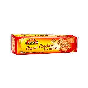 Biscoito Cream Cracker Sem Lactose Liane 200g