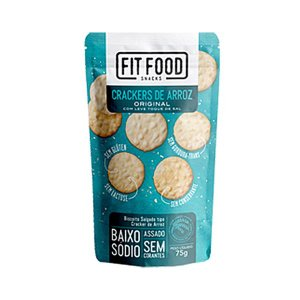 Crackers De Arroz Com Leve Toque De Sal Fitfood 75g