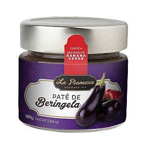 PATÊ DE BERINGELA COM BIOMASSA DE BANANA VERDE LA PIANEZZA 160g