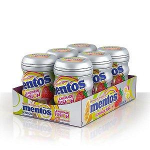Mentos Garrafa Lemonade Fusion Contendo 6 Frascos Com 28 Unidades Cada