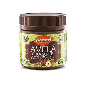 Creme De Avelã Crocante Zero Açúcar Flormel Pote