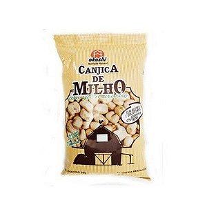 Pipoca Salgada Canjica De Milho Com Sal Marinho Okoshi 50g