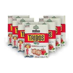 Tribos Tomate E Manjericão Orgânico Mãe Terra Contendo 7 Pacotes 25g Cada