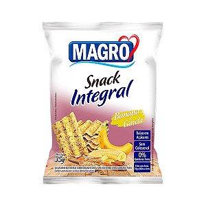 Snack Integral Banana E Canela Magro 35g