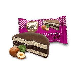 Alfarroba Duo - Biscoito De Arroz Integral Com Recheio De Creme De Avelã - Unidade