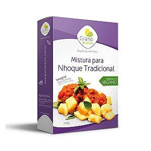 Mistura Para Nhoque Tradicional Sem Glúten, Integal E Sem Leite Grano Brasilis 250g