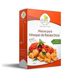 Mistura Para Nhoque De Batata Doce Sem Glúten, Integal E Sem Leite Grano Brasilis 250g