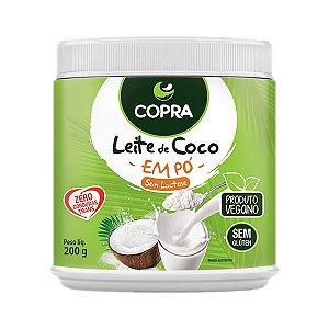LEITE DE COCO EM PÓ SEM LACTOSE COPRA 200g