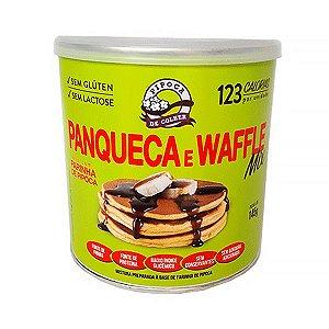 Panqueca E Waffle Mix Zero Glúten E Lactose Pipoca De Colher 145g