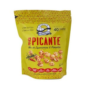 Pipoca Picante Mix De Especiarias E Pimentas Sem Lactose E Glúten Pipoca De Colher 20g