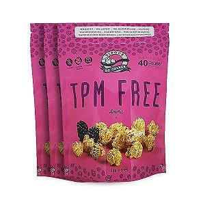Pipoca Tpm Free Amora Sem Lactose E Glúten Pipoca De Colher Contendo 3 Pacotes De 20g Cada