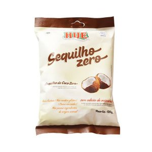 Sequilho Zero Açúcar, Zero Glúten Hué Coco 120g