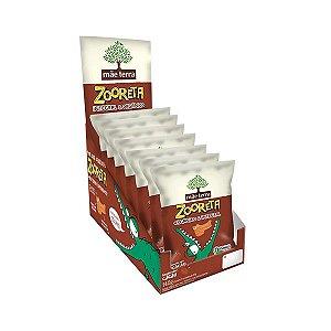 Biscoito Zooreta Orgânico E Integral Mãe Terra Cacau Contendo 7 Pacotes De 20g Cada