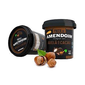 Pasta De Amendoim Integral Com Avelã Com Cacau Mandubim 450g