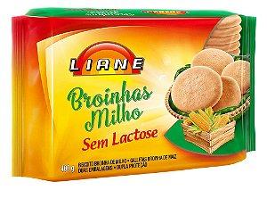Broinhas De Milho Sem Lactose Liane 400g