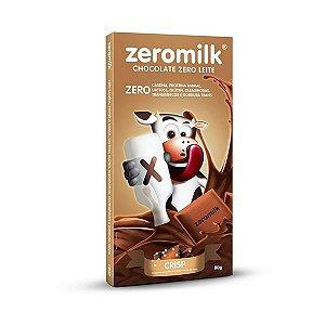 Chocolate Zeromilk Crisp Com Flocos De Arroz, 40% Cacau, Zero Lactose 80g