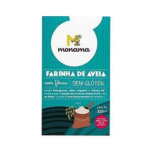Farinha De Aveia Zero Glúten Monama 200g