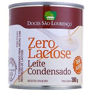 LEITE CONDENSADO ZERO LACTOSE SÃO LOURENÇO 380g