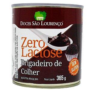 DOCE DE LEITE COM CACAU BRIGADEIRO DE COLHER ZERO LACTOSE SÃO LOURENÇO 365g