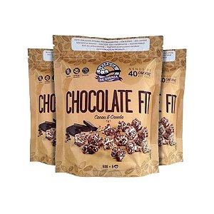 Pipoca Chocolate Cacau E Canela Pipoca De Colher Contendo 3 Pacotes De 20g Cada
