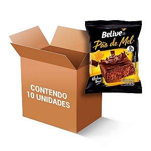 Pão De Mel Zero Lactose, Zero Glúten Belive Contendo 10 Unidades